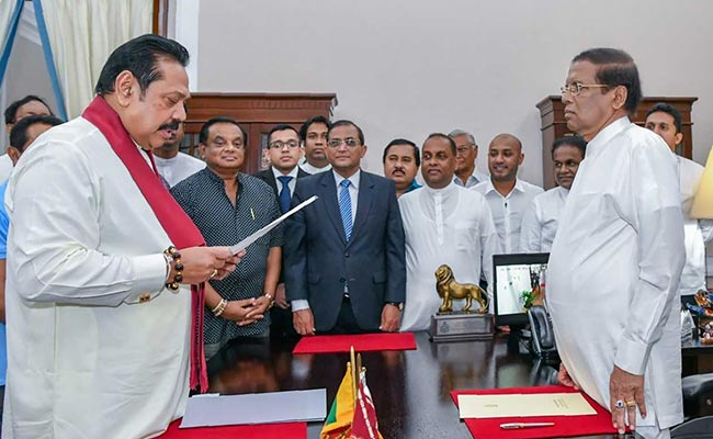 Ongoing Crisis Between Foreign And Local Values: Sri Lankan President