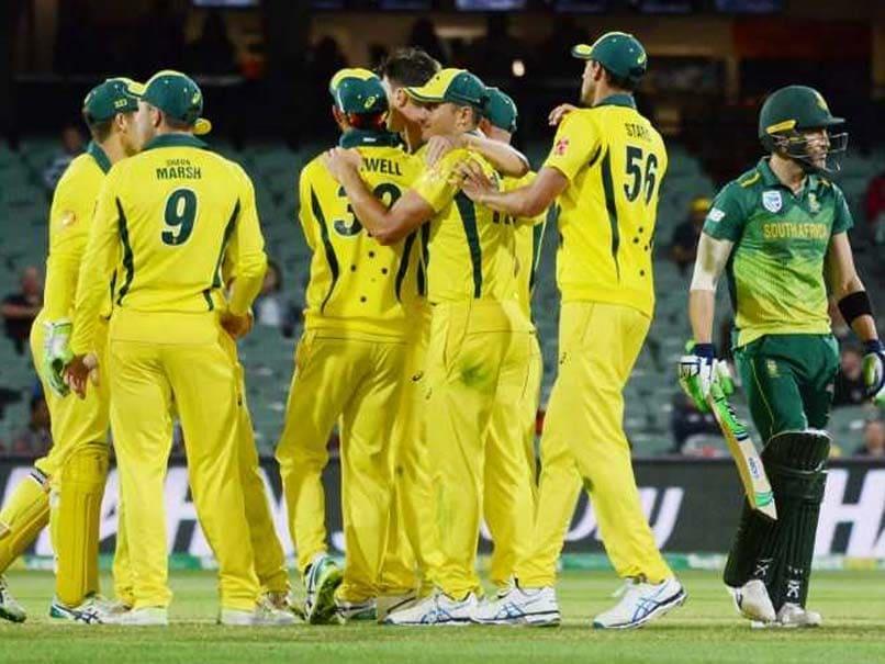 2nd ODI: Australia Beat South Africa To Snap Losing Streak