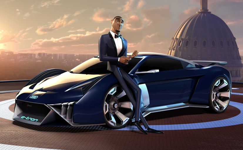 Audi RSQ E-Tron Concept Stars In Will Smith's Animated Spy Movie