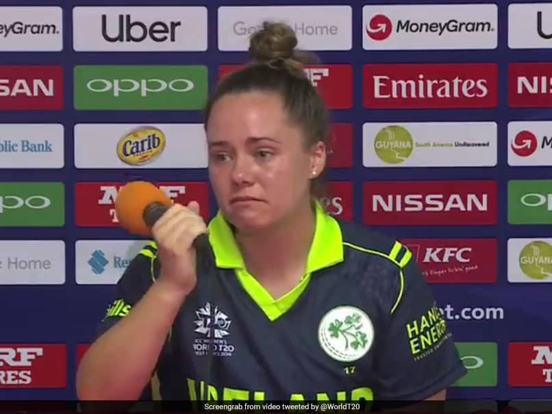 """Incredibly Frustrating"", Ireland Captain In Tears After Pakistan Loss In Womens World T20. Watch Video"