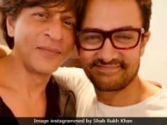 Shah Rukh Khan Gets A '<i>Thug</i> Hug' From Aamir Khan And A Fantastic Review For <i>Zero</i> Trailer