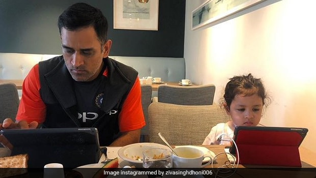 Watch: Here's How Ziva Dhoni Ensures Her Father MS Dhoni Eats Healthy!