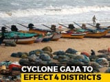 Video : Cyclone Gaja May Hit Tamil Nadu, Puducherry, Rescue Personnel On Alert