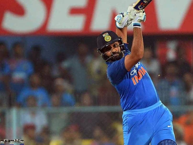 """Watch: Rohit Sharma Urges Fans To Chant """"India India"""" Instead Of """"Rohit Rohit"""""""