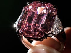 """Most Beautiful"" Pink Diamond Could Set New Record For Stone Of Its Kind"