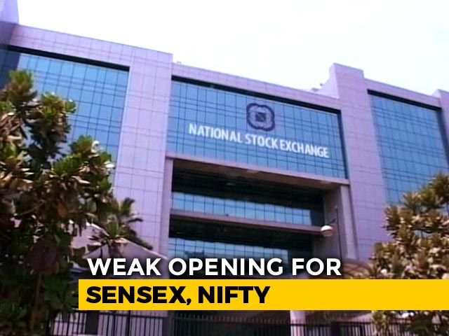 Video : Sensex Down Over 100 Points, Nifty Below 10,750