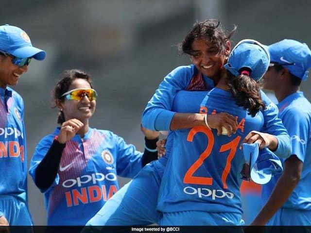 India Women cricket team wins 4th T20I against Windies