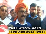 "Video : Day After Chilli Powder Attack, Arvind Kejriwal Says ""Powerful People"" Want Him Dead"