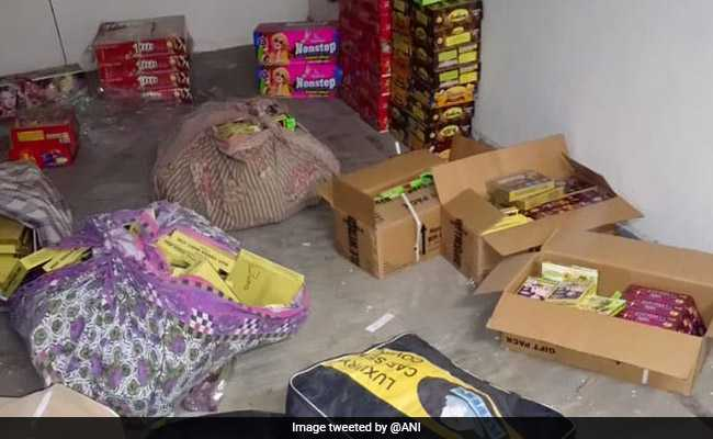 Over 600 Kg Illegal Crackers Seized In Delhi On Diwali, 31 Arrested