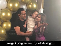 Sakshi Dhoni Singing With Friends And Other Fun Moments From Her Birthday Party