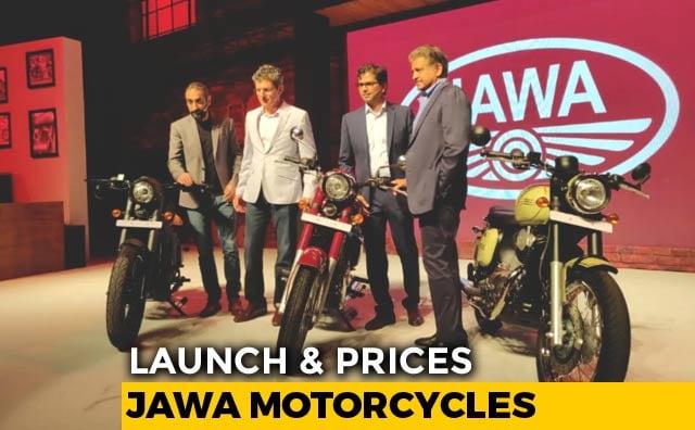 Jawa Motorcycles Launched In India - Jawa, Jawa 42, Perak