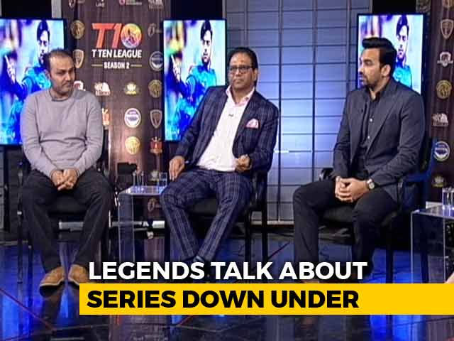 Video : Virender Sehwag Predicts An Evenly Contested India-Australia Series