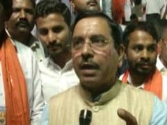 """<i>Naqli</i> Gandhis"" Ordered Protest In Front Of Gandhi Statue: Minister Prahlad Joshi"