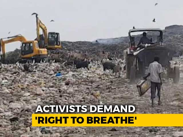 Video : Toxic Fumes From Kolkata Garbage Dump Gives Delhi A Run For Its Money