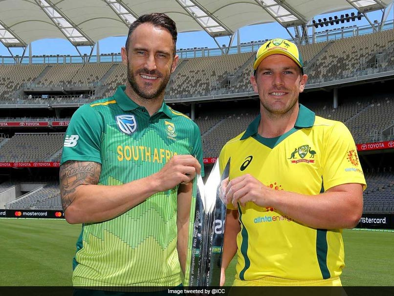 Faf Du Plessis Not Expecting Much Verbal Banter From Australia In ODI Series