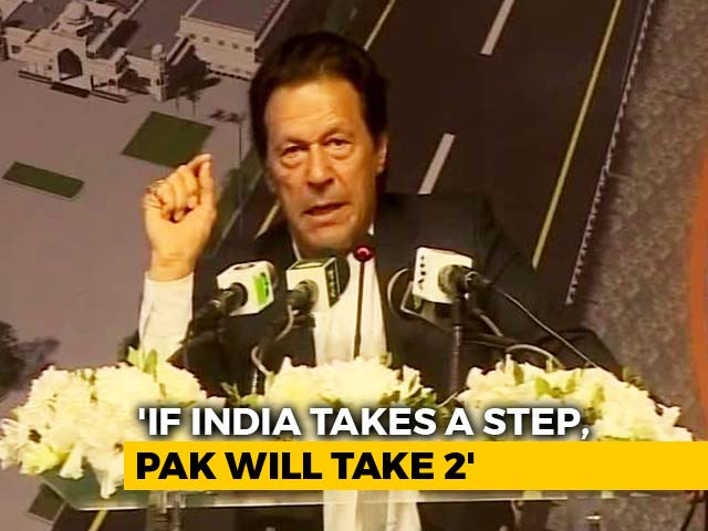 """Video : """"Army, Parties On Same Page, Want Civilised Ties With India"""": Imran Khan"""