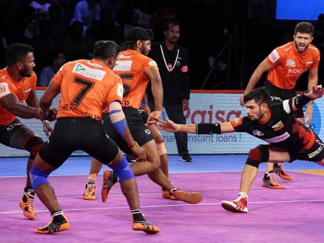 Pro Kabaddi League: U Mumba Defeat Bengaluru Bulls, Tamil Thalaivas Hold Haryana Steelers To A Draw