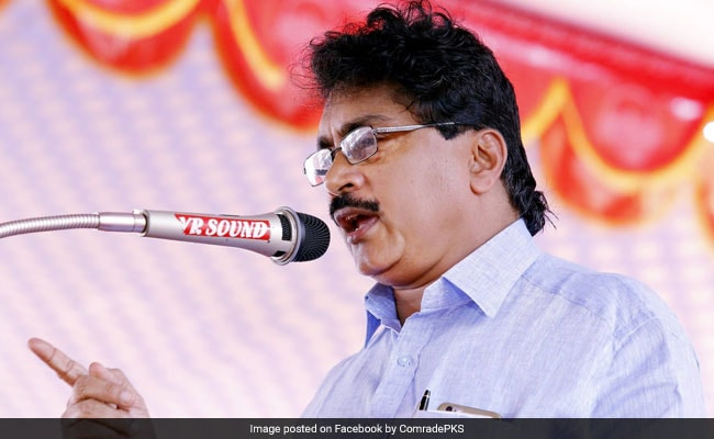 CPM Leader PK Sasi Suspended From Party Over Harassment Charge