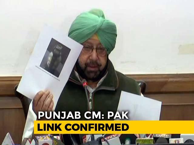 Video : Amritsar Attack Grenade Was Made In Pak, Says Amarinder Singh