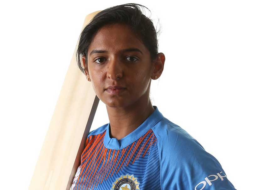 Harmanpreet Kaur century came, but not without