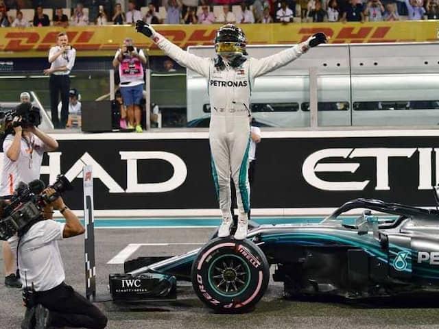 Abu Dhabi Grand Prix: Lewis Hamilton On Pole With Record Lap As Mercedes Dominate