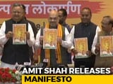 Video : Amit Shah Releases BJP Manifesto For Chhattisgarh Polls
