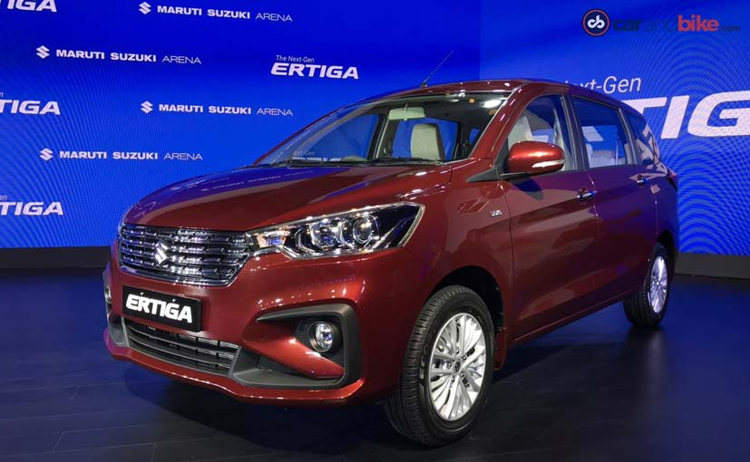 New 2018 Maruti Suzuki Ertiga Launched In India Prices Start At Rs