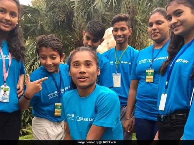 Hima Das Appointed UNICEF Indias Youth Ambassador