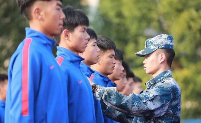 'Militarisation Of Football': Army Training, Drills For Chinese Players