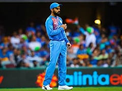 Watch: Virat Kohli Drops A Sitter In The First T20I vs Australia
