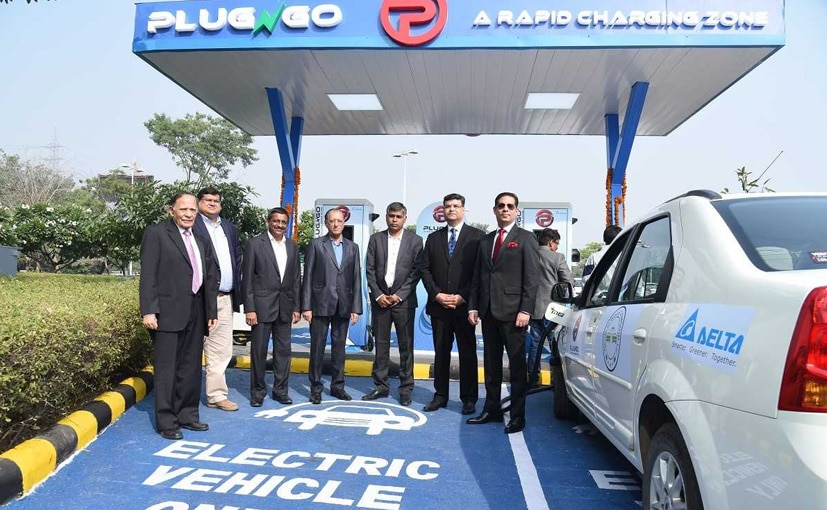 The First EV Charging station has been set-up in Gurgaon, Haryana.