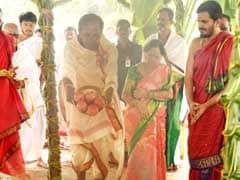 தெலங்கானாவில் தேர்தல் வரவுள்ள நிலையில் 'யாகப் பூஜை' செய்த முதல்வர்..!