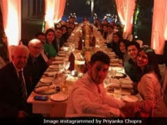 Inside Priyanka Chopra And Nick Jonas' Thanksgiving Dinner In New Delhi