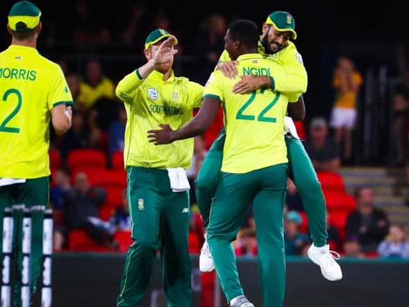 South Africa Down Australia In Rain-Hit One-Off T20I