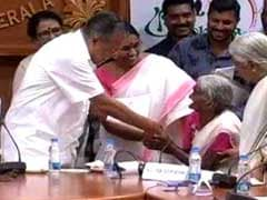 """""""Knew I Would Score"""": 96-Year-Old Kerala Grand Mom Tops Literacy Test"""