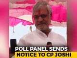 "Video: Congress Leader CP Joshi Gets Election Panel Notice On ""Brahmins"" Remark"