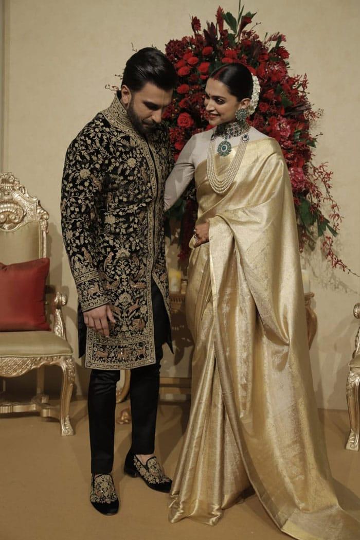Pics Of Deepika Padukone And Ranveer Singh From Bengaluru ...