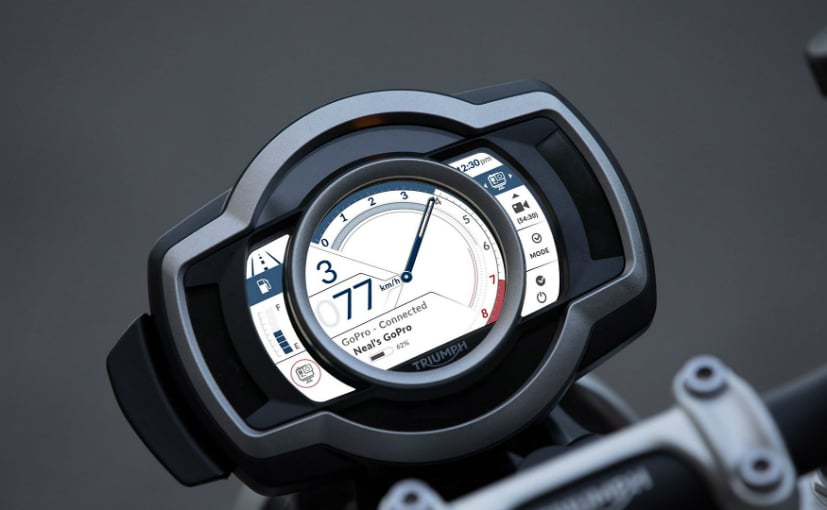 The new TFT instrument panel will feature GoPro controls and turn-by-turn navigation