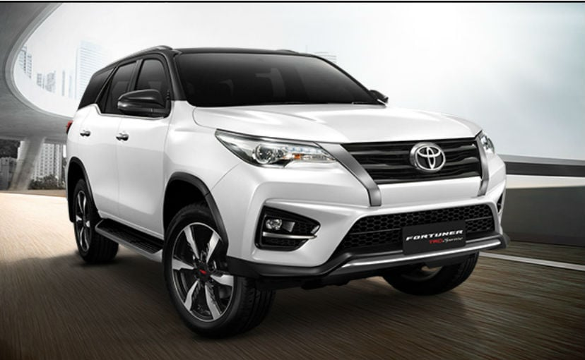 2018 Toyota Fortuner TRD Sportivo 2 Launched In Thailand