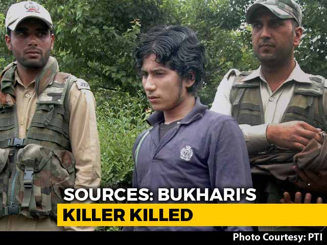 Video : Pak Terrorist, Wanted In Kashmir Editor's Murder, Killed In Encounter