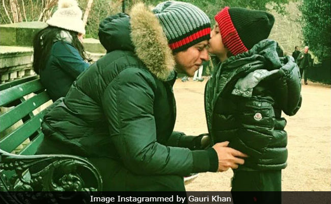 Shah Rukh Khan And AbRam Are 'Sweetest Couple In The World,' Says Gauri Khan. 'The Universe,' Corrects The Internet