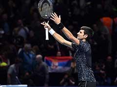 Flawless Novak Djokovic Sets Up ATP Finals Title Clash With Alexander Zverev