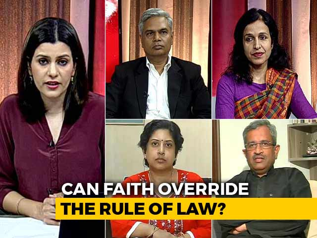 Video : Showdown At Sabarimala: Can Faith Override The Rule Of Law?