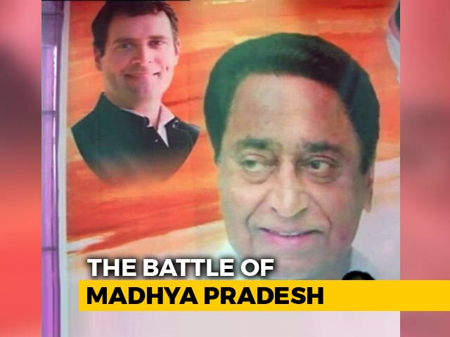 Video : National Leaders Missing From Posters For Madhya Pradesh Polls