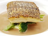 Video : Pan Seared Sea Bass With Coconut Reduction