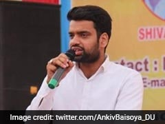 Student Leader Ankiv Baisoya Expelled By Delhi University, Say Police