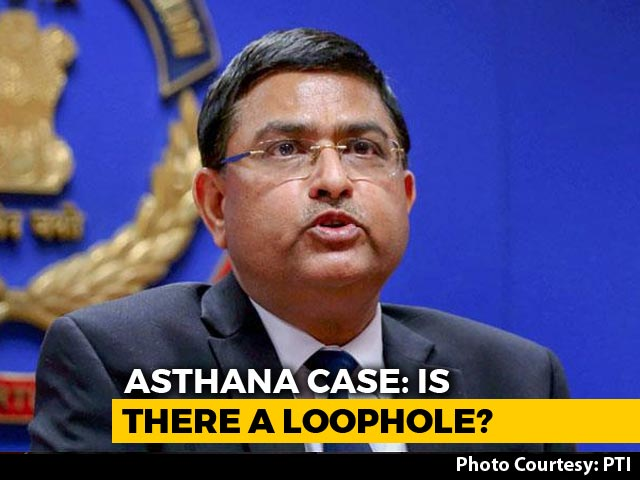 "Video : ""Was In London"": Rakesh Asthana On Middleman's Claim Of Meeting In Delhi"