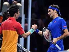 Roger Federer Loses To Kei Nishikori In ATP Finals Opener