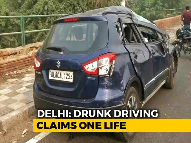 Video : Woman Killed, Daughter Injured After SUV Rams Car On Delhi Flyover
