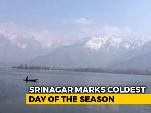 Video : Temperature Settles Below Freezing Point For First Time In Srinagar